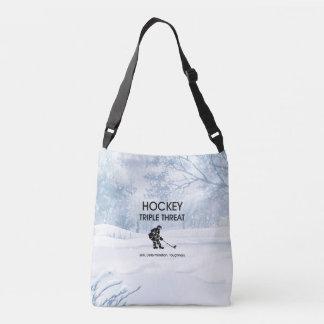TOP Hockey Triple Threat Crossbody Bag