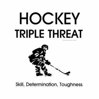 TOP Hockey Triple Threat Cutout