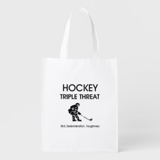TOP Hockey Triple Threat Grocery Bag
