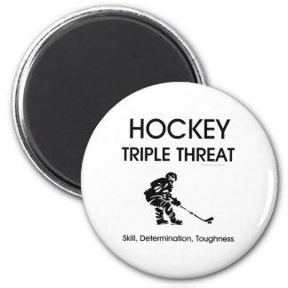 TOP Hockey Triple Threat Magnet