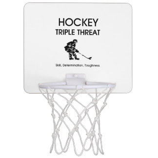 TOP Hockey Triple Threat Mini Basketball Backboard