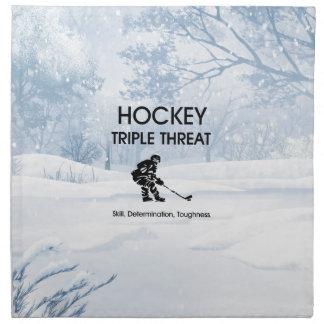 TOP Hockey Triple Threat Napkin