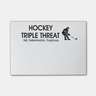 TOP Hockey Triple Threat Post-it® Notes