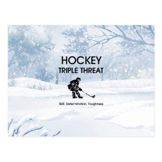 TOP Hockey Triple Threat Postcard