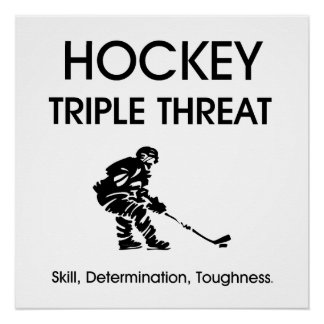 TOP Hockey Triple Threat Poster