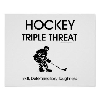 TOP Hockey Triple Threat Poster