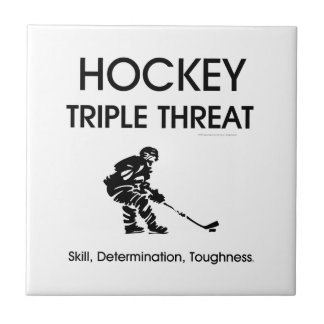 TOP Hockey Triple Threat Small Square Tile