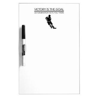TOP Hockey Victory Slogan Dry Erase Board