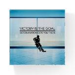 TOP Hockey Victory Slogan Paperweight