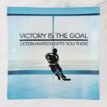 TOP Hockey Victory Slogan Trinket Trays