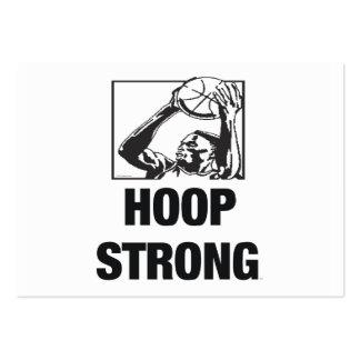 TOP Hoop Strong Business Card Templates