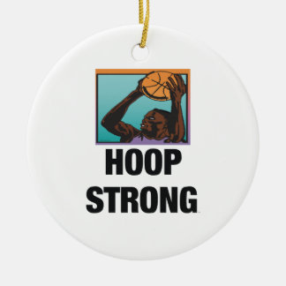 TOP Hoop Strong Ceramic Ornament