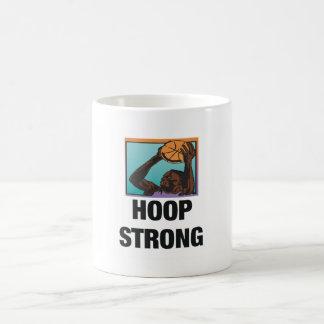 TOP Hoop Strong Classic White Coffee Mug