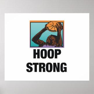 TOP Hoop Strong Poster