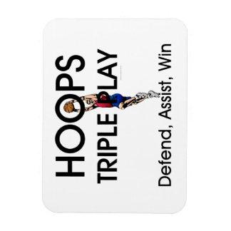 TOP Hoops Triple Play Magnet