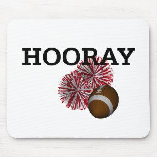 TOP Hooray Football Mouse Pad