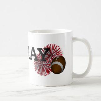 TOP Hooray Football Classic White Coffee Mug