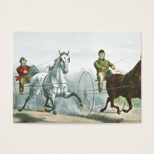 TOP Horse Poetry Business Card