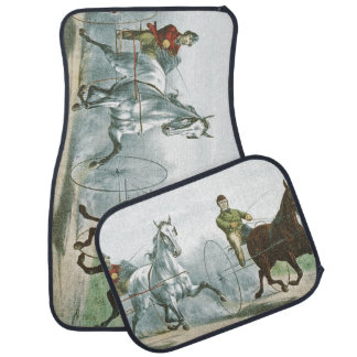 TOP Horse Poetry Car Floor Mat