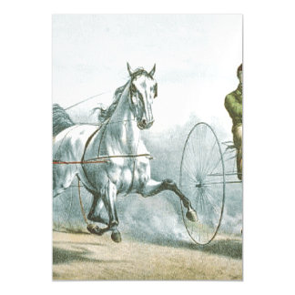 TOP Horse Poetry Magnetic Card