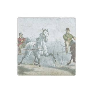 TOP Horse Poetry Stone Magnet