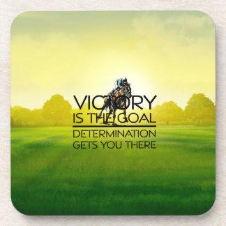 TOP Horse Race Victory Slogan Coaster