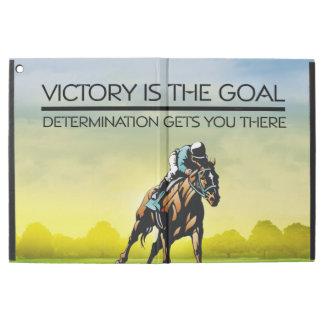 "TOP Horse Race Victory Slogan iPad Pro 12.9"" Case"