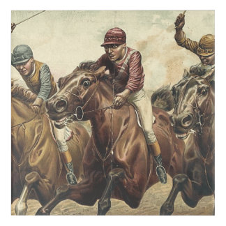 TOP Horse Racing Acrylic Wall Art