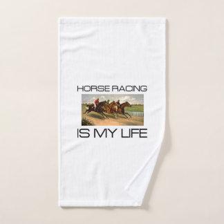 TOP Horse Racing Is My Life Bath Towel Set