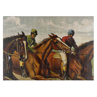 TOP Horse Racing is My Life Cutting Board