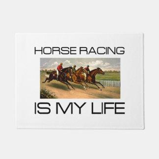 TOP Horse Racing is My Life Doormat