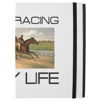"TOP Horse Racing is My Life iPad Pro 12.9"" Case"