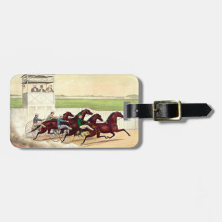 TOP Horse Racing Is My Life Luggage Tag