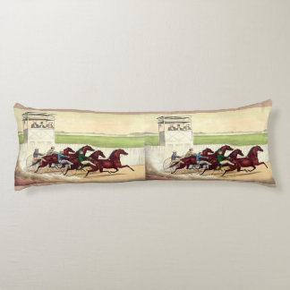 TOP Horse Racing Is My Life Body Pillow