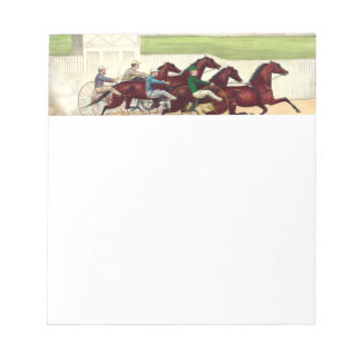 TOP Horse Racing Is My Life Notepads