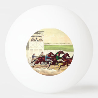 TOP Horse Racing Is My Life Ping-Pong Ball