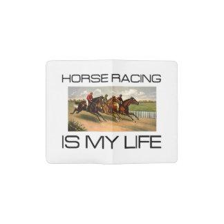 TOP Horse Racing Is My Life Pocket Moleskine Notebook