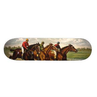 TOP Horse Racing is My Life Skateboard
