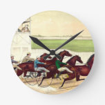TOP Horse Racing Is My Life Wall Clock
