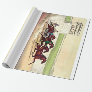 TOP Horse Racing Is My Life Wrapping Paper