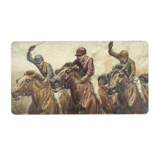 TOP Horse Racing Label