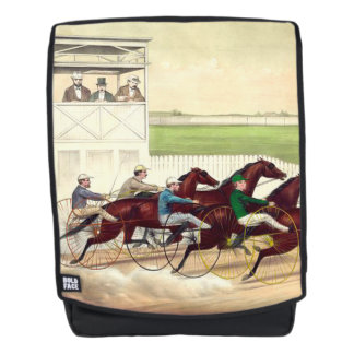 TOP Horse Racing Life Backpack
