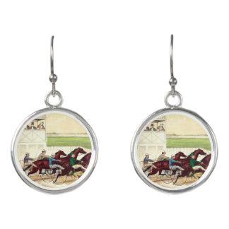 TOP Horse Racing Life Earrings