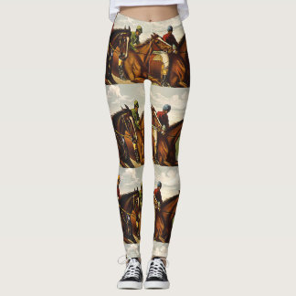TOP Horse Racing Life Leggings