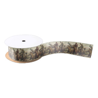 TOP Horse Racing Satin Ribbon