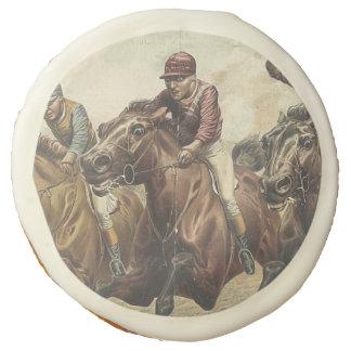 TOP Horse Racing Sugar Cookie