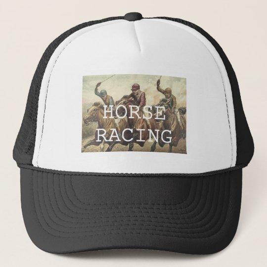 TOP Horse Racing Trucker Hat