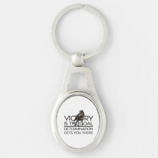 TOP Horse Racing Victory Slogan Keychain