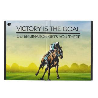 TOP Horse Racing Victory Slogan Powis iPad Air 2 Case
