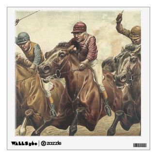 TOP Horse Racing Wall Sticker
